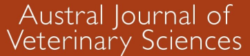 Austral Journal of Veterinary Sciences